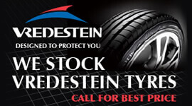 We stock Vredestein Tyres