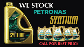 We Stock Petronas Synyium Oil
